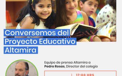 EL EQUIPO DE PRENSA ALTAMIRA 2020 ENTREVISTA A NUESTRO DIRECTOR PEDRO ROSAS