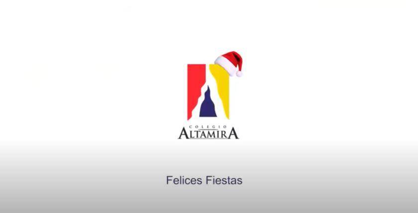 FELICES FIESTAS DE PARTE DE TODO EL GRAN EQUIPO DEL COLEGIO ALTAMIRA