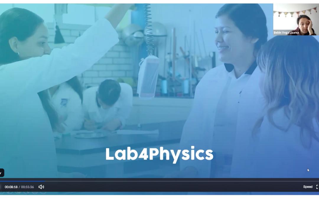 Profesores de ciencias asisten a la primera capacitación de la app Lab4U