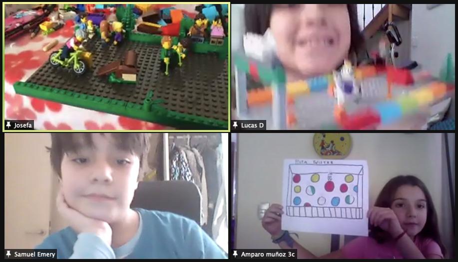 Estudiantes de 4º Básico se preparan para concurso Lego