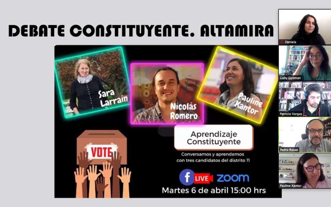"""Más de 300 estudiantes participaron del conversatorio """"Aprendizaje Constituyente"""""""