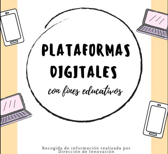 Plataformas digitales con fines educativos