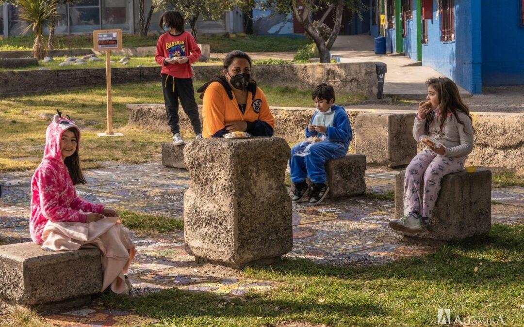 Un viernes en pijama: el 3°A celebra el día del niño