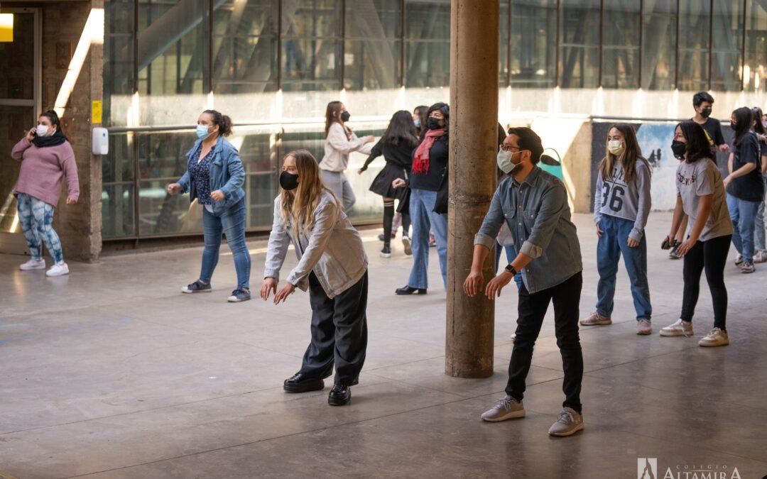 Bailando al ritmo de la zumba junto a Antonia Jaraba